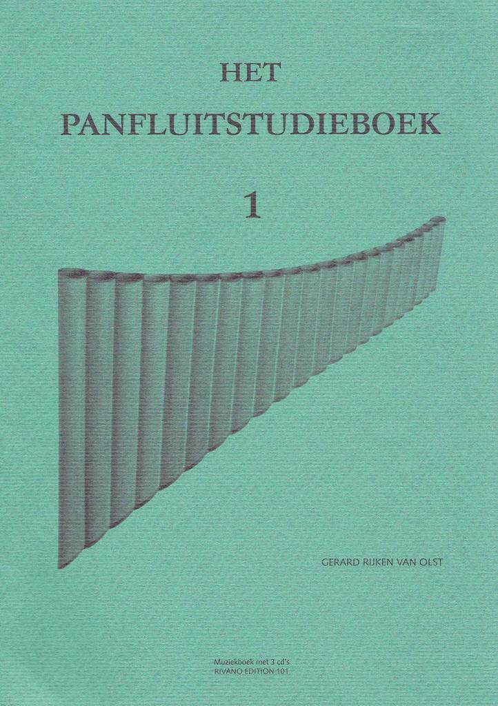 Het Panfluitstudieboek - Deel 1 - Startpakket
