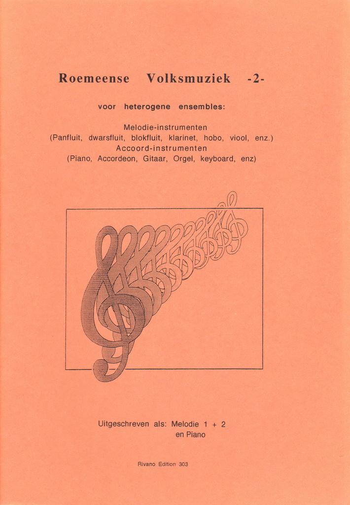 Roemeense Volksmuziek voor Ensemble - Deel 2